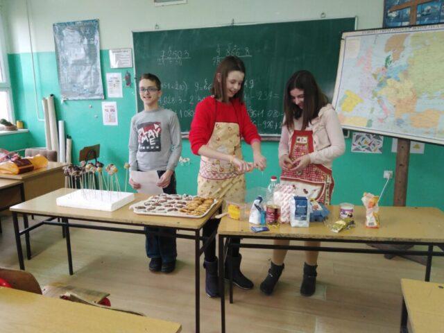 Мануфактура и еснафи, седми разред - израда колача