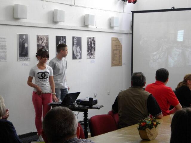 Завршен пројекат - изложба и дебата, презентација ученика средње школе