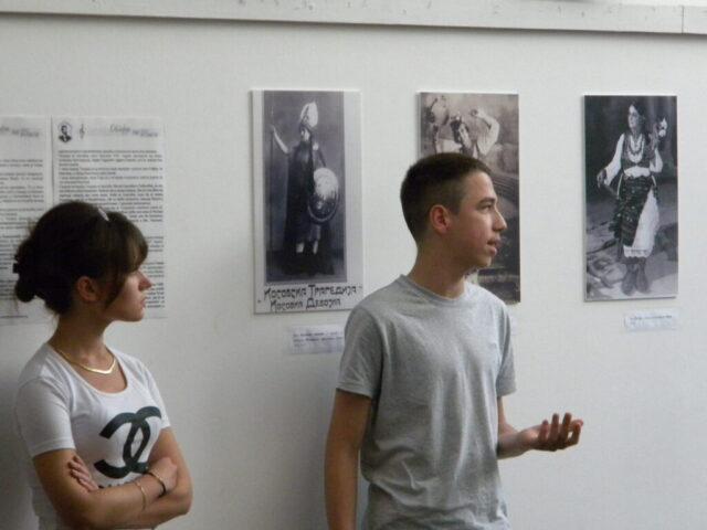 Завршен пројекат - изложба и дебата, ученици Средње школе
