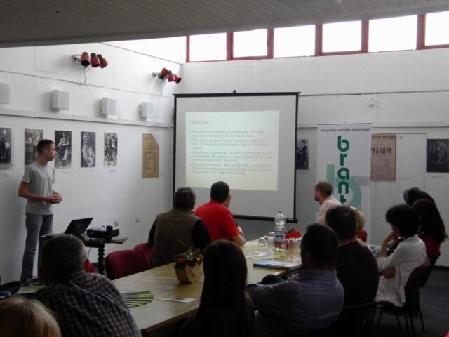 Завршен пројекат - изложба и дебата, дискусија и излагање