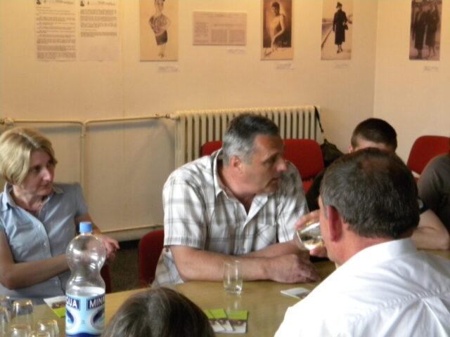 Завршен пројекат - изложба и дебата, излагање представника локалне управе
