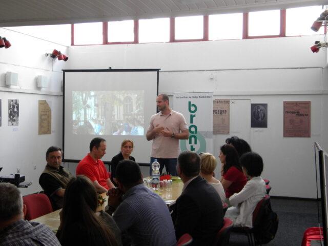 Завршен пројекат - изложба и дебата, уводно излагање