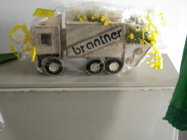 Завршен пројекат - изложба и дебата, икебана у моделу брантнеровог камиона