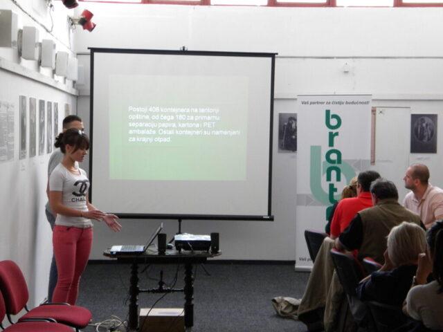 Завршен пројекат - изложба и дебата, презентација о критичним тачкама