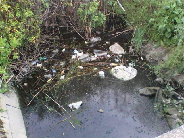 активност мапирања, отпад у каналу