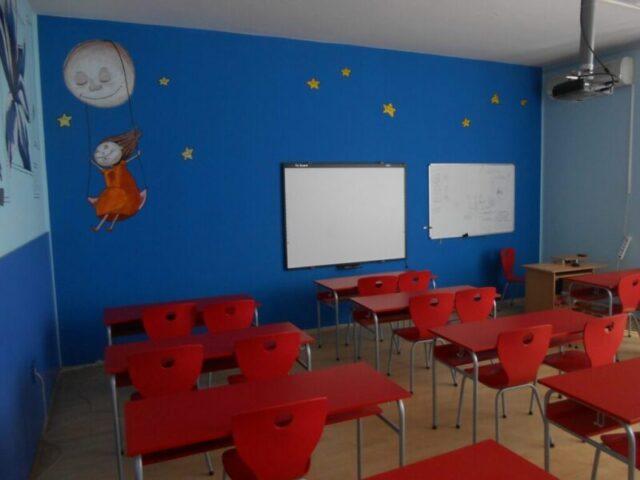 Реновиране учионице - специјализована учионица, бела табла