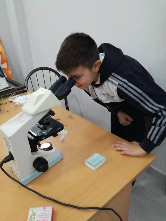 Теренски рад - микроскоп